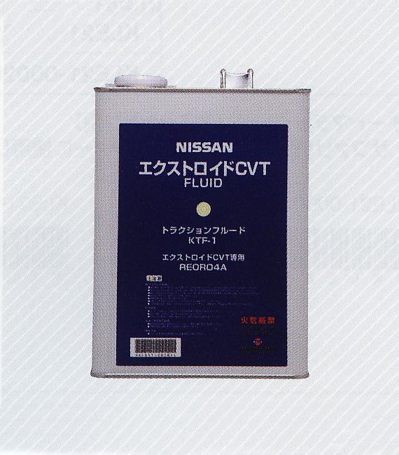 NISSAN 日産 純正 オイル CVTフルードKTF-1 4L 缶