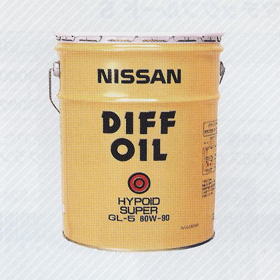送料無料 NISSAN 日産 純正 デフオイルハイポイドスーパー GL-5 80W-90 20L 缶