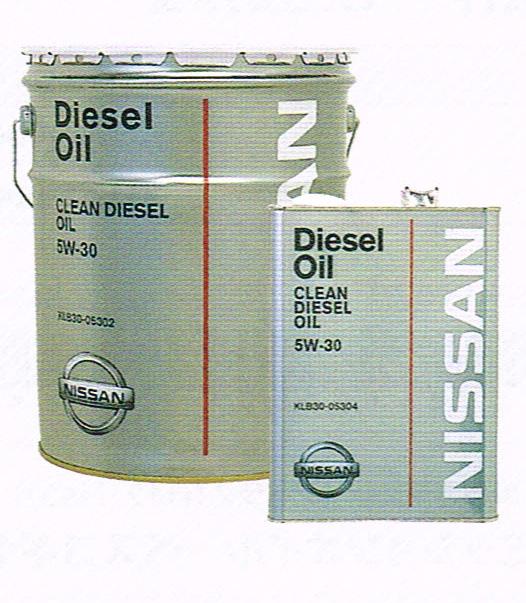 NISSAN 日産 純正 クリーンディーゼルオイル 5W-30 20L 缶