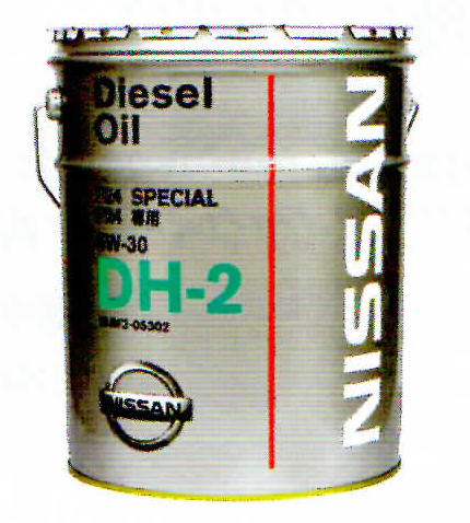NISSAN 日産 純正 ディーゼルエンジンオイル DH2 5W-30 20L 缶 | 5W30 20L 20リットル ペール缶 オイル 車 人気 交換 オイル缶 油 エンジン油 ポイント消化