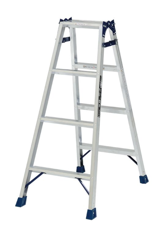 ピカコーポレーション PiCa はしご兼用脚立 MCX 1.1 MCX-120 | 脚立 ピカ 折りたたみ アルミ 工事 照明 用品 はしご 脚立 プロ 職人 整備 洗車 DIY