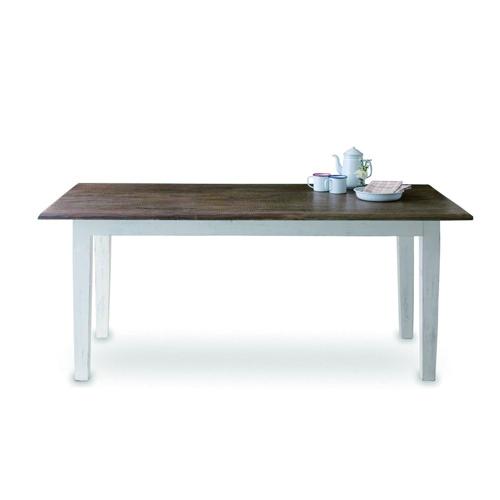 W.S ダイニングテーブル シーシャムウッド(天板) マンゴーウッド(脚) W180 D90 H75cm