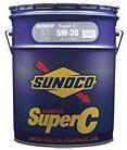 SUNOCO スノコ エンジンオイル SUPER C 5W-30 DL1 SH 20L缶   5W30 20L 20リットル ペール缶 オイル 車 人気 交換 オイル缶 油 エンジン油 車検 オイル交換 ポイント消化