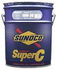 SUNOCO スノコ エンジンオイル SUPER C 10W-30 DH2 SH 20L缶 | 10W30 20L 20リットル ペール缶 オイル 車 人気 交換 オイル缶 油 エンジン油 ポイント消化