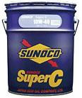 SUNOCO スノコ エンジンオイル SUPER C 10W-40 DH2 SH 20L缶 | 10W40 20L 20リットル ペール缶 オイル 車 人気 交換 オイル缶 油 エンジン油 ポイント消化