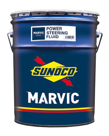 SUNOCO スノコ DEXRON指定車のパワーステアリングにも 使用可能  SUNOCO スノコ パワーステアリングフルード MARVIC マービック POWER STEERING FLUID 20L缶   20L 20リットル ペール缶 オイル 交換 人気 オイル缶 油 車検 車 オイル交換 ポイント消化