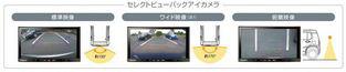 SUZUKI スズキ 純正 HUSTLER ハスラー セレクトビューバックアイカメラ 2016.12~仕様変更 99000-990EH-S61