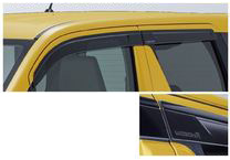 SUZUKI スズキ 純正 WAGONR ワゴンR ドアバイザー (2017.2~仕様変更) 99120-63R00   ドア バイザー 雨 雨よけ 後付け 取り付け 交換 部品 パーツ ポイント消化