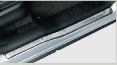【あすつく】 SUZUKI スズキ ESCUDO エスクード スズキ純正 サイドシルスカッフ ステンレス 対応年式2015.7〜次モデル, シュアラスターネットショップ 15ee871a