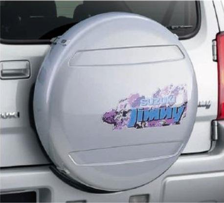 SUZUKI スズキ JIMNY ジムニー スズキ純正 スペアタイヤハウジング(鍵付き/2ピース)175/80R16用 2015.7~次モデル