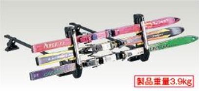 SUZUKI スズキ JIMNY ジムニー スズキ純正 スキー&スノーボードアタッチメント(斜め積み) 2015.7~次モデル