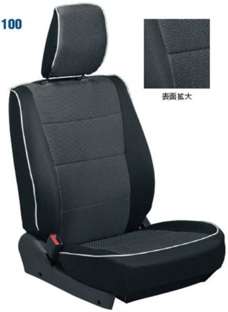 SUZUKI スズキ JIMNY ジムニー スズキ純正 シートカバー(ブラック) XG用:1台分 2015.7~次モデル