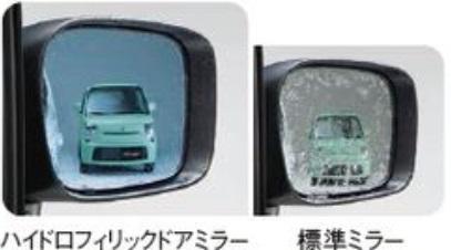 SUZUKI スズキ MR wagon MRワゴン スズキ純正 ハイドロフィリックドアミラー 2015.7~次モデル