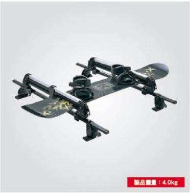 SUZUKI スズキ SWIFT スイフト スズキ純正 スキー&スノーボードアタッチメント(Terzo) 対応年式2015.7~次モデル