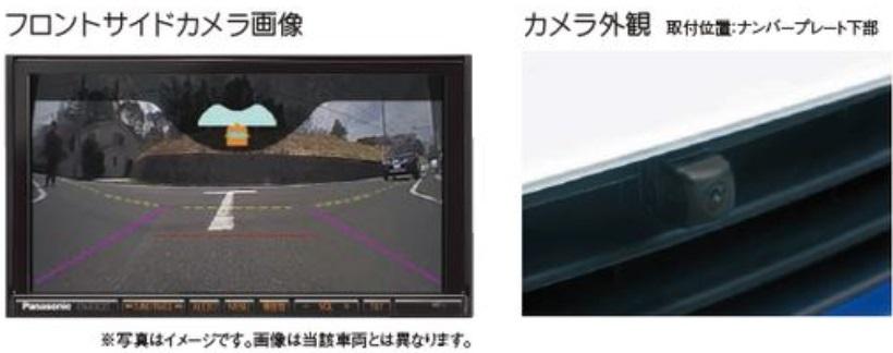 SUZUKI スズキ SWIFT スイフト スズキ純正 フロントサイドビューカメラ 対応年式2015.7~次モデル