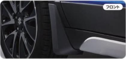 SUZUKI スズキ SX4 S-CROSS スズキ純正 フロントマッドフラップセット 対応年式2015.7~次モデル