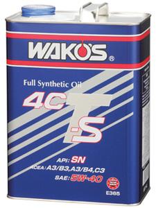 和光 ワコーズ WAKO'S 4CT-S フォーシーティーS 5W-30 20L 缶 E336
