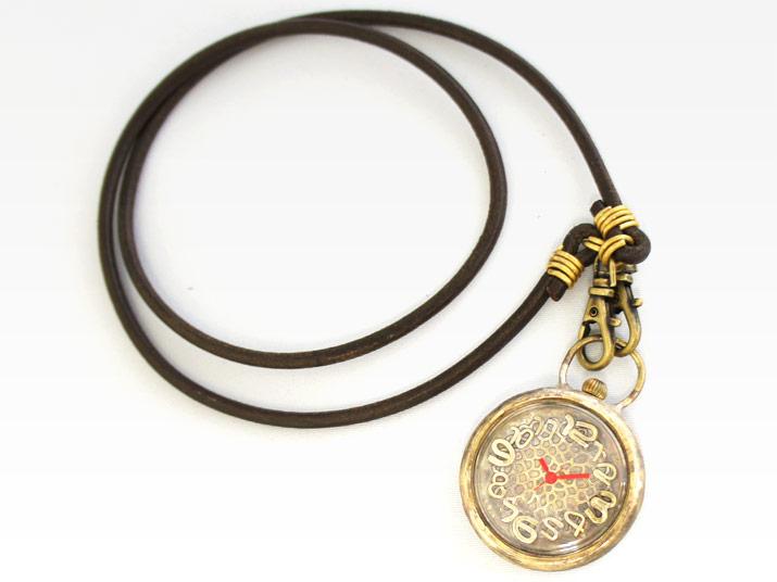 en 華 (ポケットウォッチ) 手作り腕時計 ペンダント型