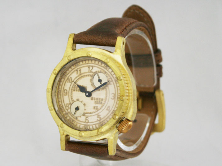 送料無料 Ks DEERAM 手作り腕時計