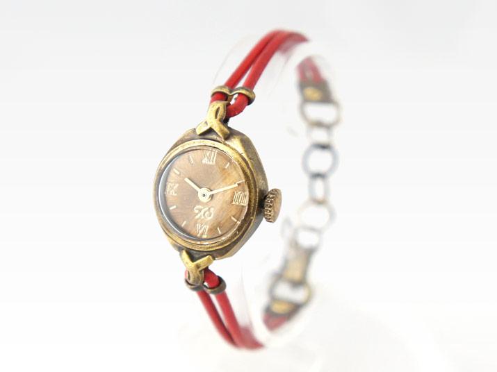 送料無料 Ks EPO 手作り腕時計 レディースウォッチ