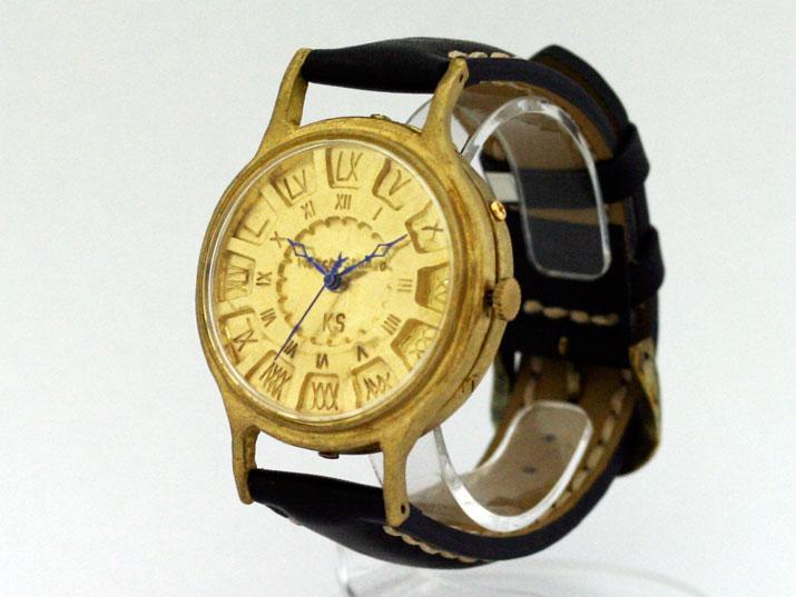 Ks FLY BACK JUMBO 手作り腕時計