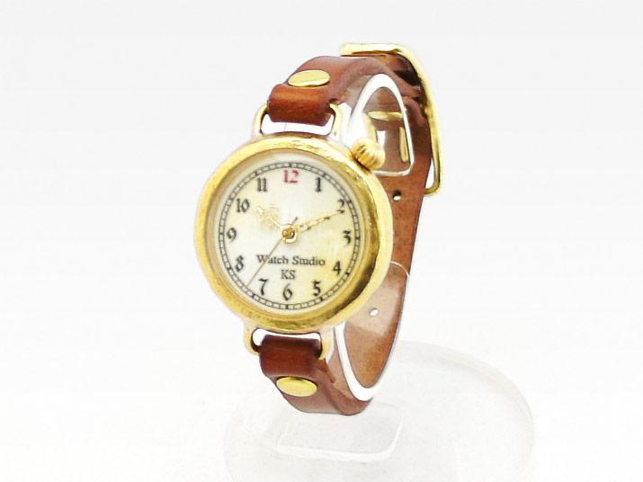 Ks LEGS LEATHER 手作り腕時計