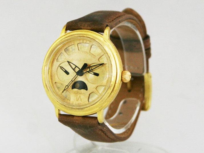 送料無料 Ks MOONSTREET 手作り腕時計