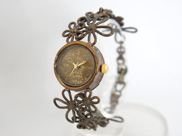 YURIKO UNNO ねむれる森の...(いぶし) 手作り腕時計
