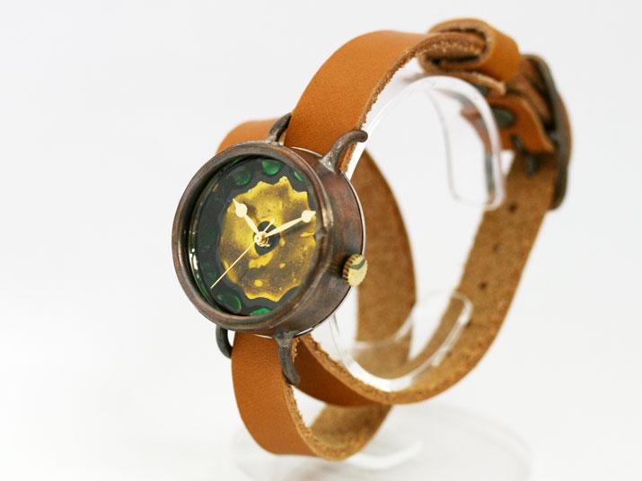 送料無料 Y colore II (コローレ 二重巻)手作り時計