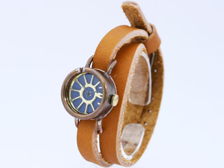 Y vento ( blue )手作り時計