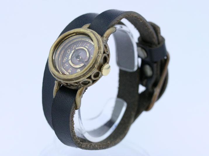 Y cerchietto ( チェルキエット 二重巻き )手作り時計
