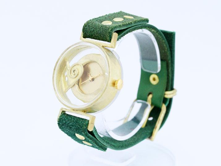 送料無料 YURIKO UNNO タイムカプセル (ハート)手作り時計