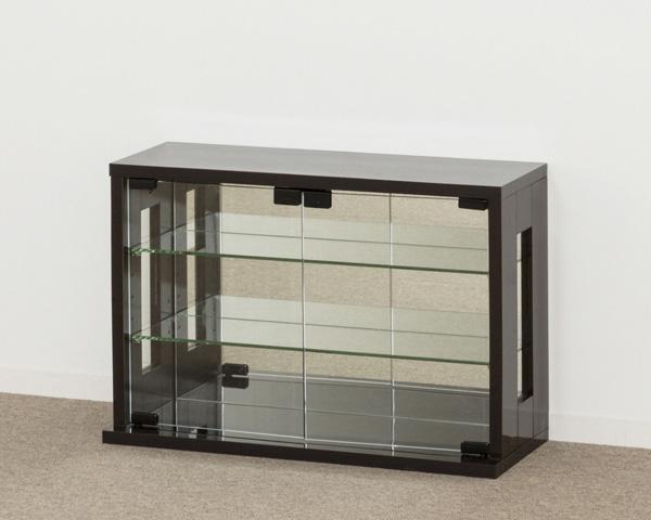 卓上コレクションケース 横型(ダークブラウン) KU665