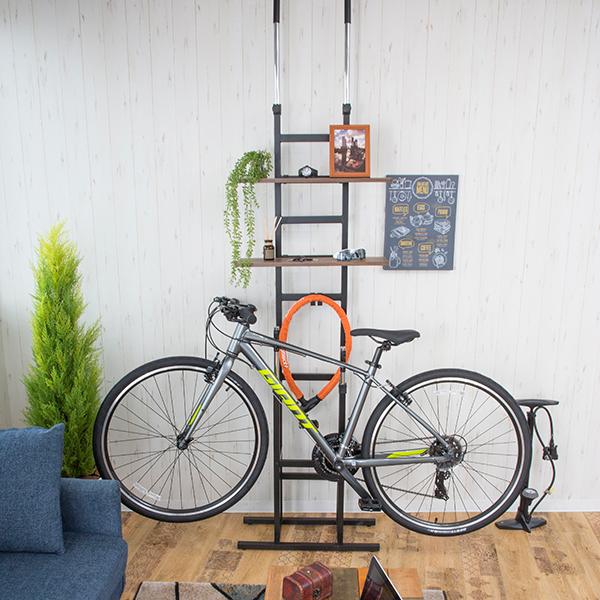 突っ張り式 Bicycle standrack 室内用ディスプレイサイクルスタンド 予約 買い物 SA894