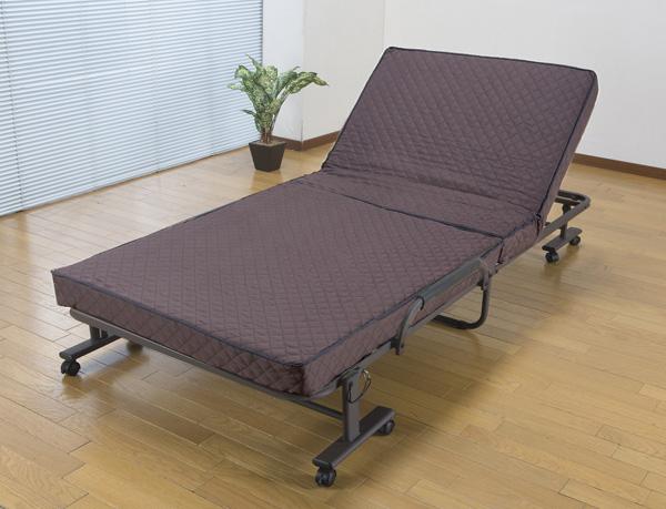 コンパクト折りたたみベッド シングル SA867 送料無料