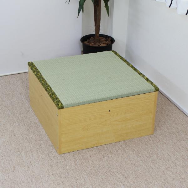 ユニット畳 収納 置き畳 高床式ユニット畳 半畳タイプ 畳ボックス 置き畳 い草 イ草 日本製 ナチュラル ハイタイプ 国産 送料無料