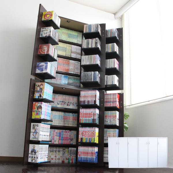 ポイント5倍!期間限定 DVDラック DVD収納ラック 2個組 CDラック CD収納棚 CD収納ラック おしゃれ 大容量 大量収納 ディスプレイ 棚 収納 ラック CDストッカー DVDストッカー 日本製 J-Supply Ltd.(ジェイサプライ) JS70D