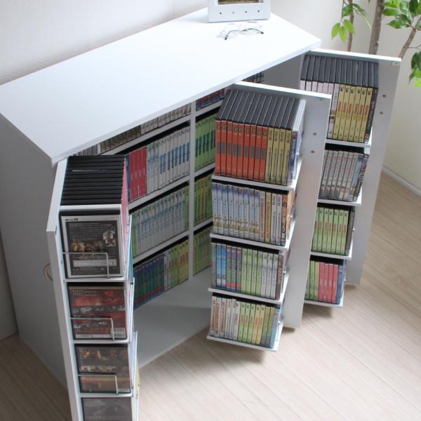 DVDラック DVD収納ラック DVD CD CDラック CD収納棚 CD収納ラック おしゃれ 大容量 CD収納 大量収納 ディスプレイ 棚 収納 ラック CDストッカー DVDストッカー 日本製 js70