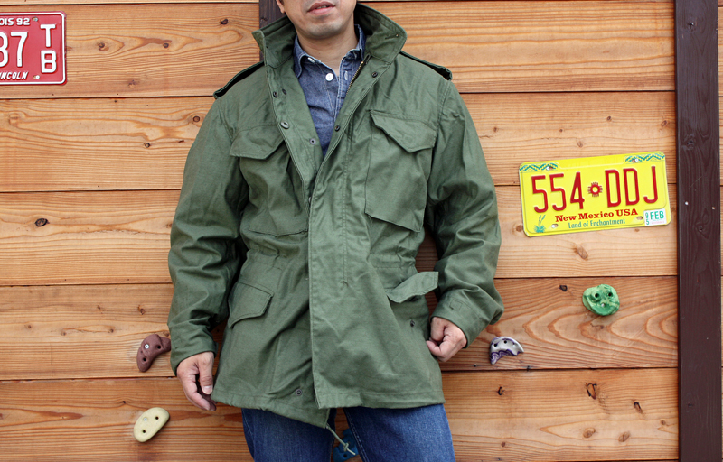 ... M-65 field coat アルファインダストリー product is introduced. In the early 90 s  American production 93914a543abb