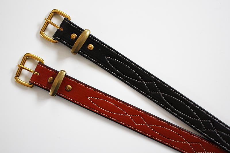 USA 80s Style Duty Belt Diamond Stich アメリカ製ダイアステッチ