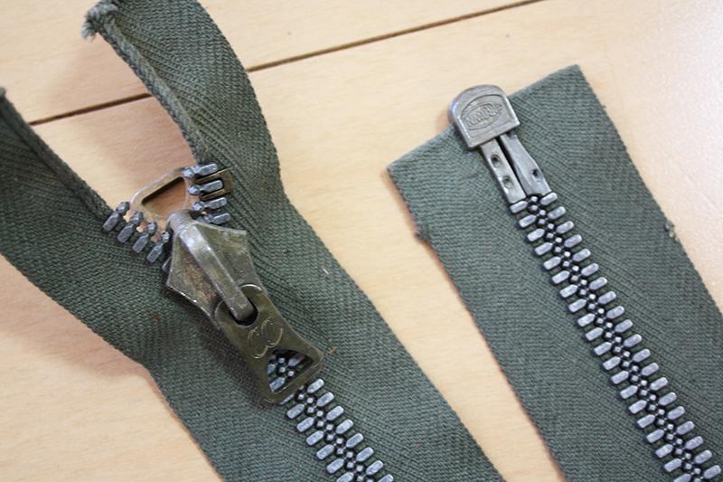 【アメリカ製・本物・ヴィンテージ】Vintage Crown zipper クラウン ジッパー セパレート