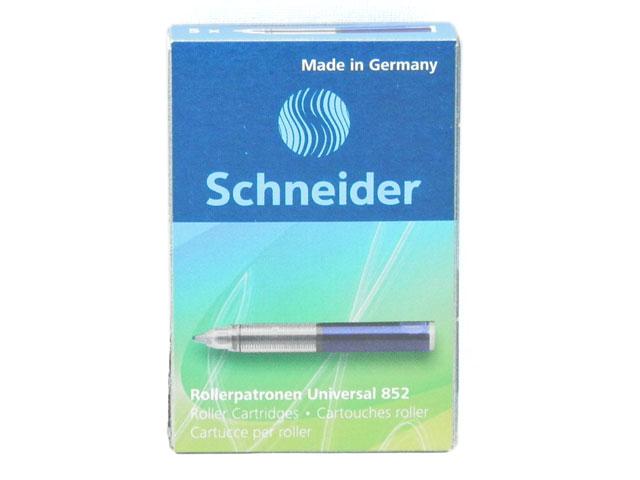 トレンド ネコポスOK ドイツ文具 ペン先一体型 SCHNEIDER シュナイダー 2020モデル ベースボール対応 ローラーボール 852 インクカートリッジ