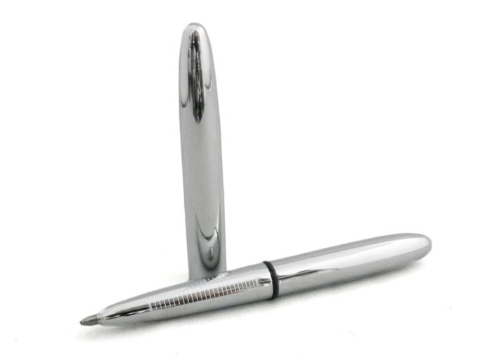 コンパクトなFISHERボールペン NASAも認めた宇宙飛行士が使うボールペン フィッシャー スペースペン ブレット ボールペン シンプル 本店 Fisher おしゃれ クローム EF-400 祝日