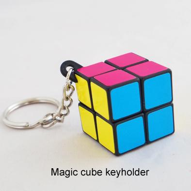 小さなマジックキューブのキーホルダー 安全 立体パズル 今だけスーパーセール限定 おもちゃ ハイタイド マジックキューブキーホルダー ネオン HIGHTIDE GZ066 かわいい ルービックキューブ ネコポスOK