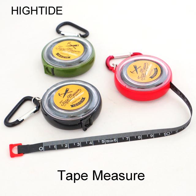 携帯できるカラビナ付きテープメジャー ネコポスOK 巻き尺 定規 キーホルダー ハイタイド テープメジャー 豊富な品 ブラックテープ GZ097 ロールメジャー HIGHTIDE 市販 ネコポス対応 メジャー 巻尺 おしゃれ