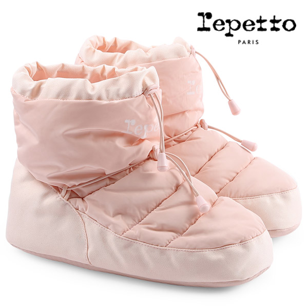 repettoレペット・ウォームアップブーツ(ピンク)[T251]