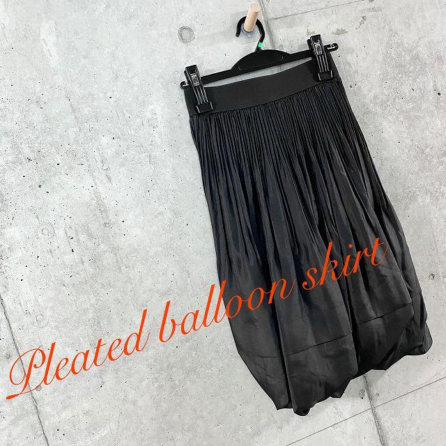 COOMB クームプリーツ × バルーンスカート【select-shop】【セレクトショップ】【レディースファッション 30代 40代 50代】