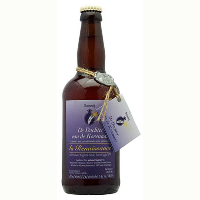 ルネサンス・シルバー ドクトル・ヴァン・ドゥ・コールナール 500ml(ベルギービール 6本セット)【納期:3日~約2週間後に発送】