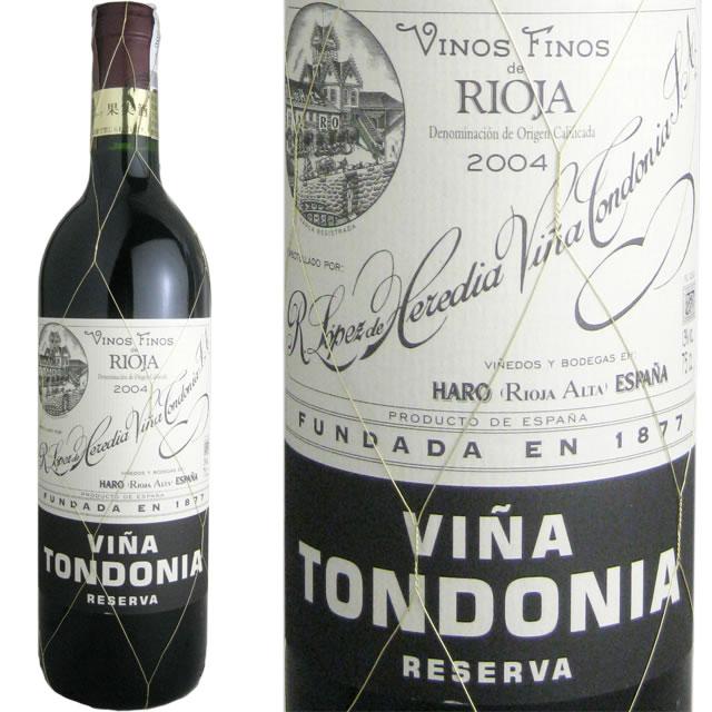 リオハNo.1の生産者が造る赤ワイン トンドニア まとめ買い特価 ティント レセルヴァ 2007 ヴィニャ 納期:3日~約3週間後に発送 定価の67%OFF ロペス デ エレディア