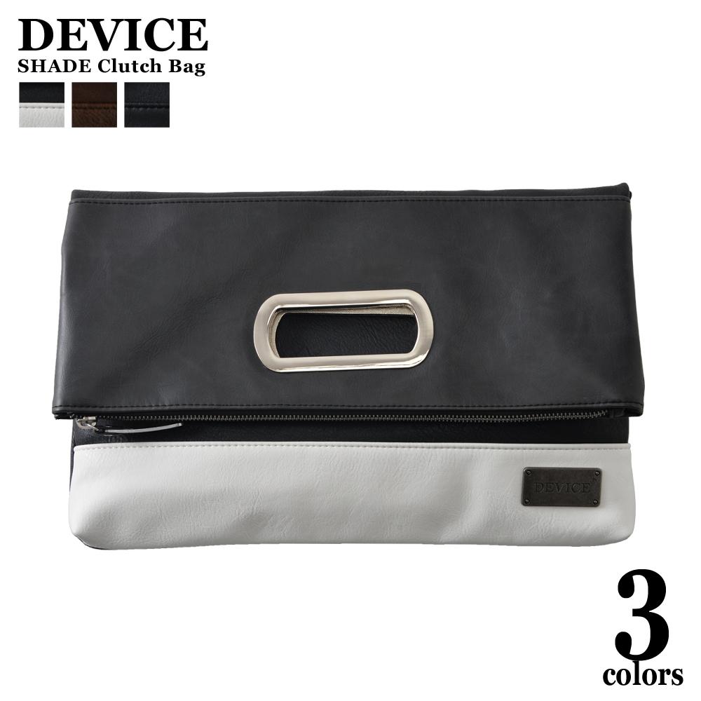 Clutch Bag Handbag Men Fake Leather Shin Pull Plain Fabric Small Shark 3way 2way Back